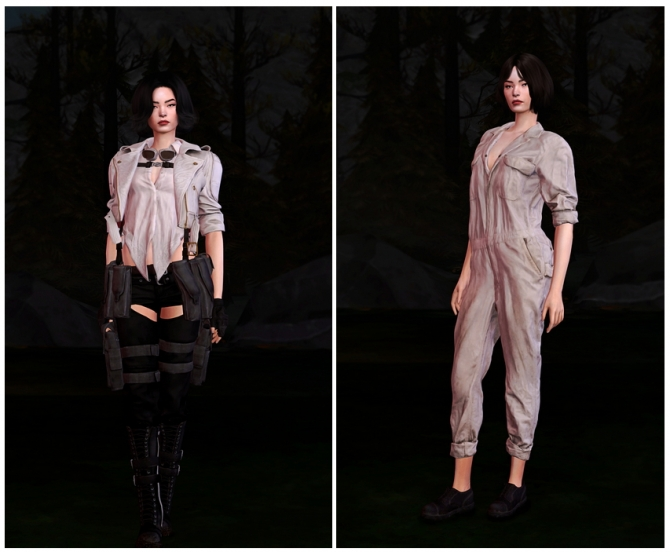 Devil May Cry 5 Lady Outfits At Astya96 187 Sims 4 Updates
