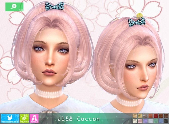 J158 Coccon hair at Newsea Sims 4 image 11512 670x491 Sims 4 Updates