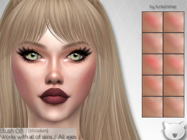 Sims 4 Blush 08 by turksimmer at TSR