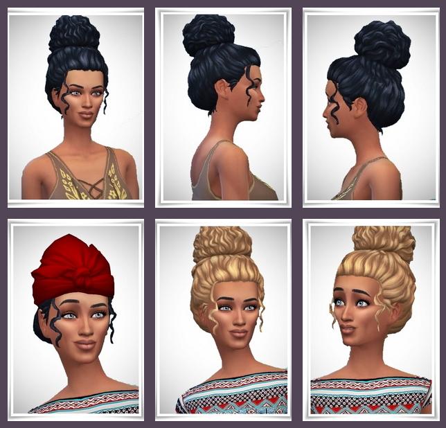 Sims 4 PileUp Small hair at Birksches Sims Blog