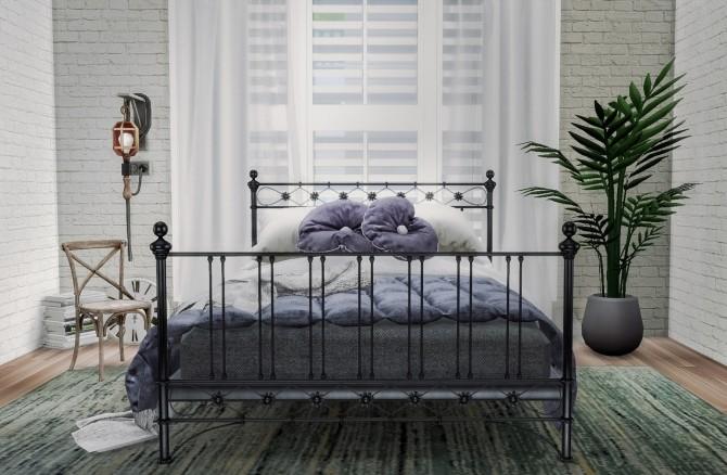 Metal Bed Set (P) at Viviansims Studio image 11811 670x438 Sims 4 Updates