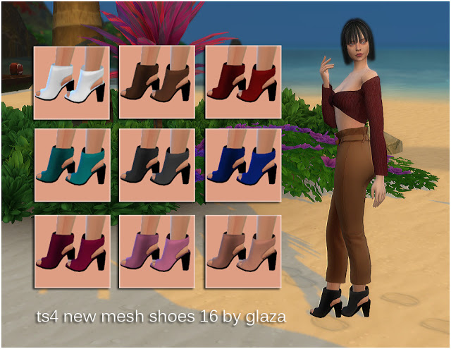 Sims 4 Shoes 16 (P) at All by Glaza