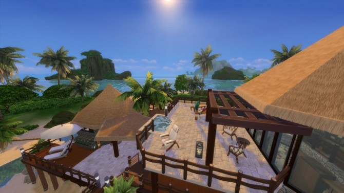 Beach House Fiji Island Hotel Resort by maudhuy at L'UniverSims image 1238 670x377 Sims 4 Updates