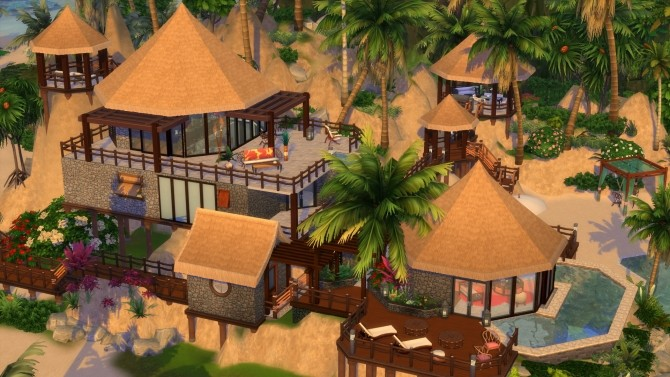 Beach House Fiji Island Hotel Resort by maudhuy at L'UniverSims image 1258 670x377 Sims 4 Updates