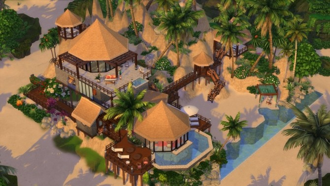 Beach House Fiji Island Hotel Resort by maudhuy at L'UniverSims image 1268 670x377 Sims 4 Updates