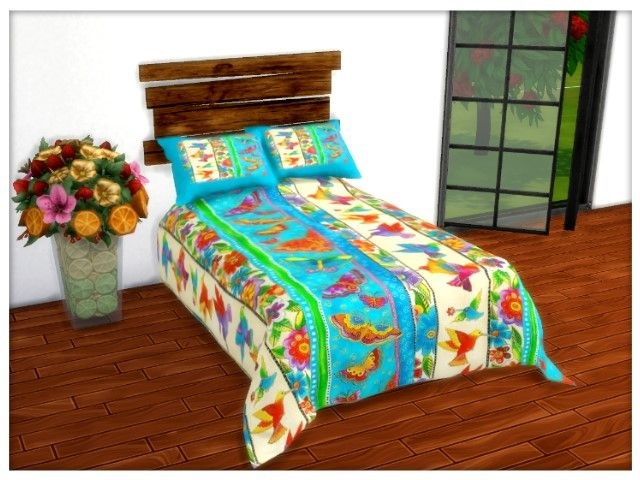 Sims 4 Blankets & Cushions by Oldbox at All 4 Sims