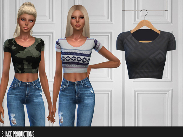299 T Shirt by ShakeProductions at TSR image 1289 Sims 4 Updates