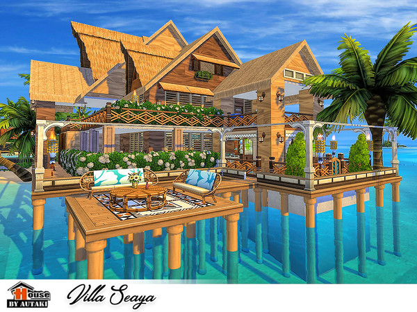 Sims 4 Villa Seaya by autaki at TSR