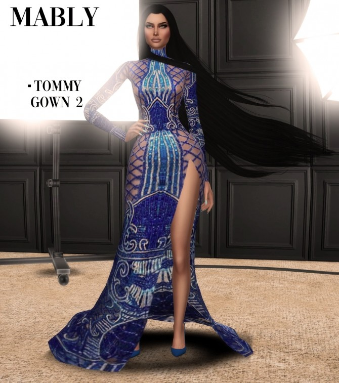 Sims 4 TOMMY SET at Mably Store
