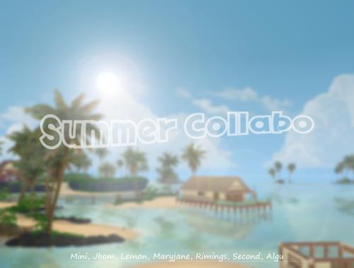 Summer Collabo set at Lemon Sims 4 image 1329 Sims 4 Updates