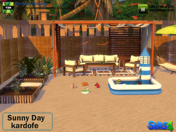Sunny Day set by kardofe at TSR image 1338 Sims 4 Updates