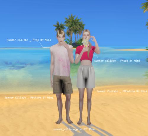 Summer Collabo set at Lemon Sims 4 image 1368 Sims 4 Updates