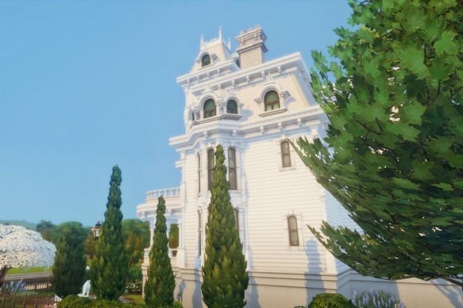 Sims 4 Casablanca house at Happy Life Sims