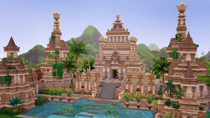 Ancient Sea Gods Temple at Akai Sims – kaibellvert image 1375 670x377 Sims 4 Updates