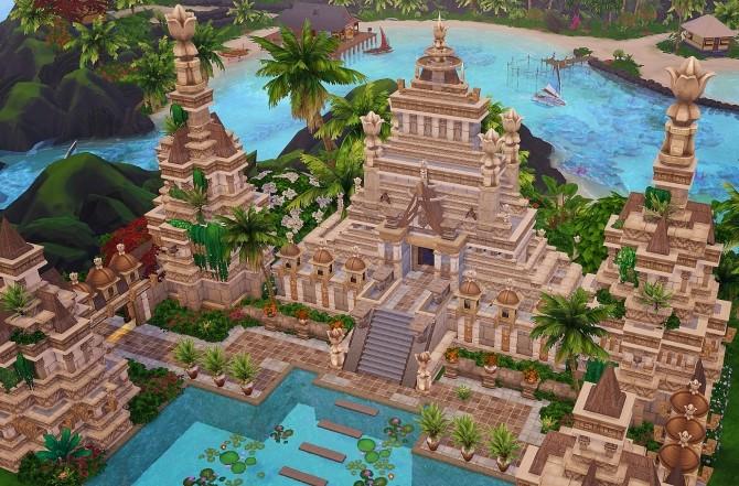 Ancient Sea Gods Temple at Akai Sims – kaibellvert image 1384 670x441 Sims 4 Updates