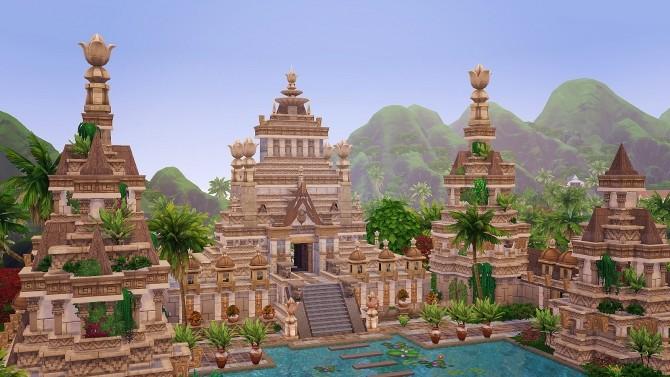 Ancient Sea Gods Temple at Akai Sims – kaibellvert image 1394 670x377 Sims 4 Updates