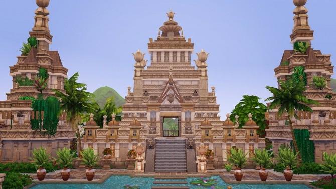 Ancient Sea Gods Temple at Akai Sims – kaibellvert image 1404 670x377 Sims 4 Updates