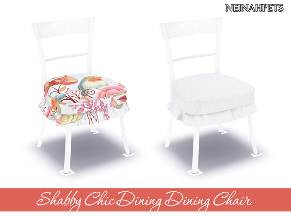 Shabby Chic Dining Collection by neinahpets at TSR image 1410 Sims 4 Updates