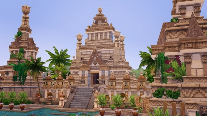 Ancient Sea Gods Temple at Akai Sims – kaibellvert image 1419 670x377 Sims 4 Updates