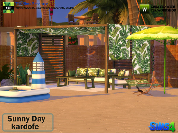 Sunny Day set by kardofe at TSR image 1430 Sims 4 Updates