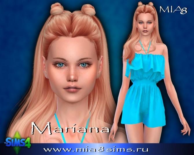 Sims 4 Mariana at Mia8Sims