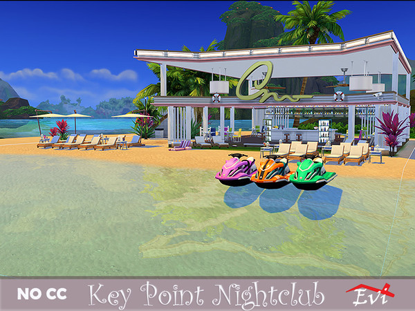 Key Point NightClub by evi at TSR image 1450 Sims 4 Updates
