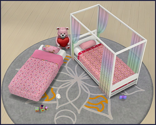 Sims 4 Mattress for toddler bed at CappusSims4You