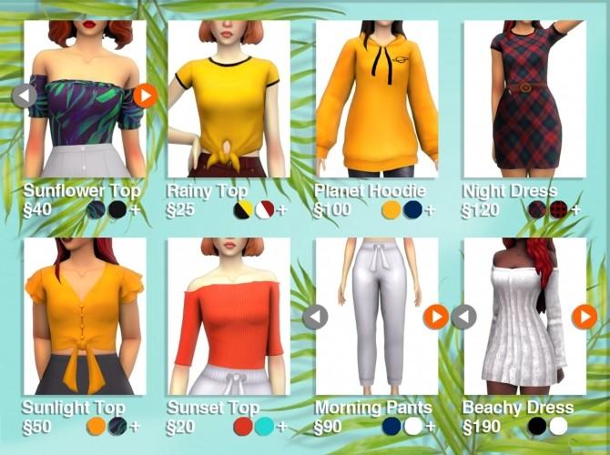 Sims 4 20k pack at Simandy