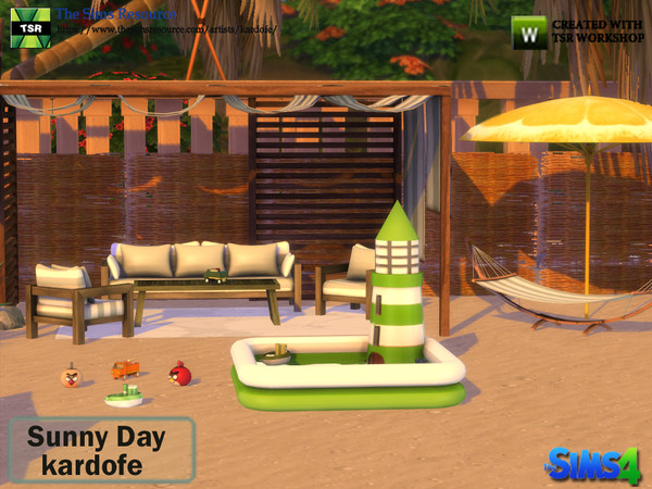 Sunny Day set by kardofe at TSR image 1528 Sims 4 Updates