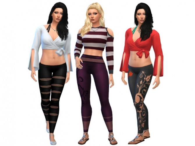 Sims 4 Leggings at Louisa Creations4Sims
