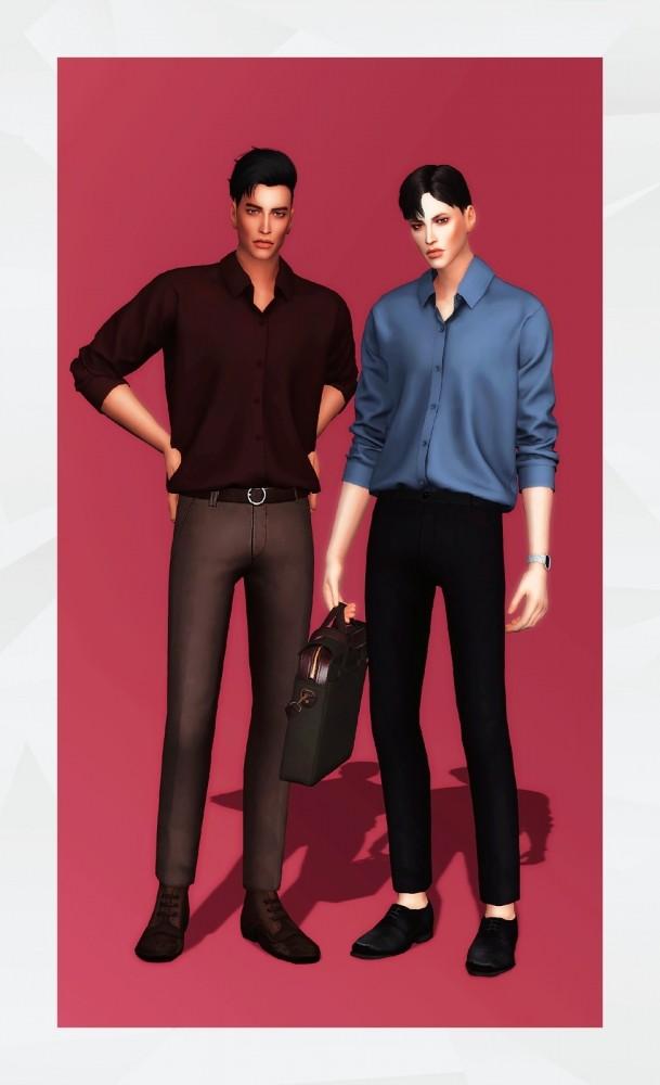 Basic Shirt at Gorilla image 1554 609x1000 Sims 4 Updates