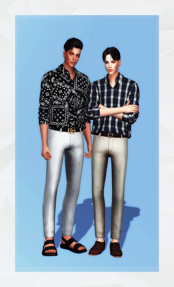 Basic Shirt at Gorilla image 1564 609x1000 Sims 4 Updates