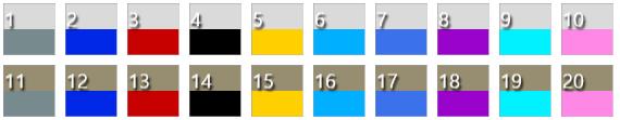 Sims 4 M&FM Summer polygon sunglasses at Bedisfull – iridescent