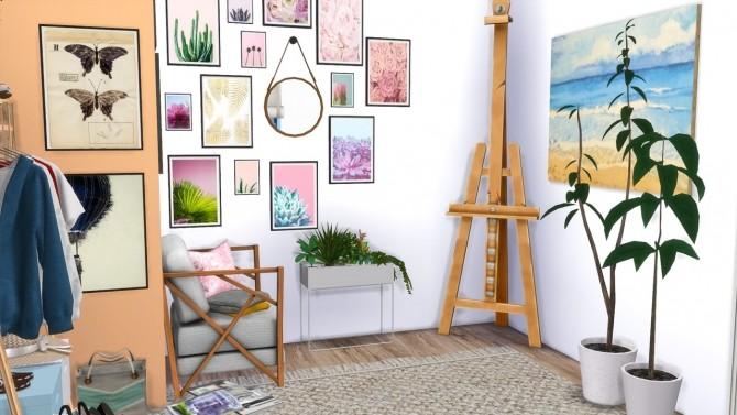 Sims 4 BOHEMIAN BEDROOM at MODELSIMS4