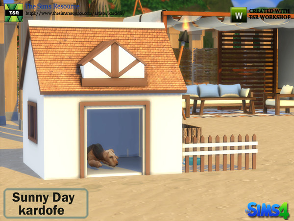 Sunny Day set by kardofe at TSR image 1626 Sims 4 Updates