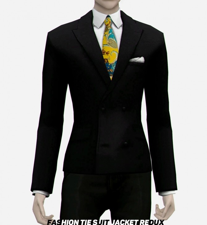 Suit Jacket Redux at EFFIE image 1664 670x728 Sims 4 Updates