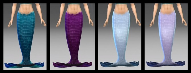 Sims 4 EP07 FinTwo Without Side Fins by NintendoLover13 at Mod The Sims