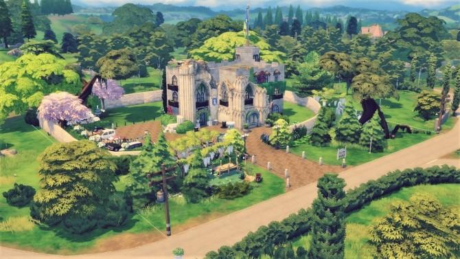 Sims 4 Windenburg Castle at Agathea k