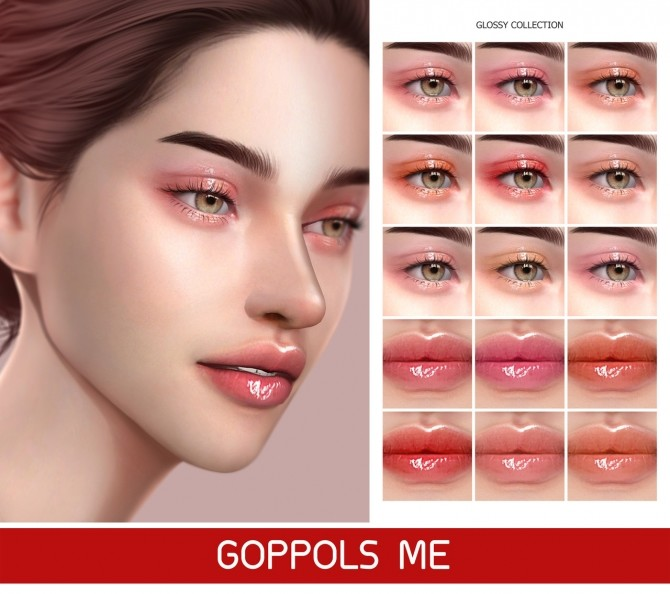Sims 4 GPME GOLD Glossy Collection at GOPPOLS Me