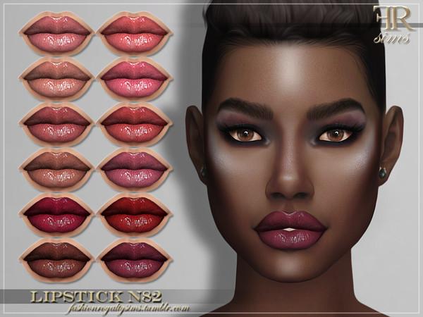 Sims 4 FRS Lipstick N82 by FashionRoyaltySims at TSR