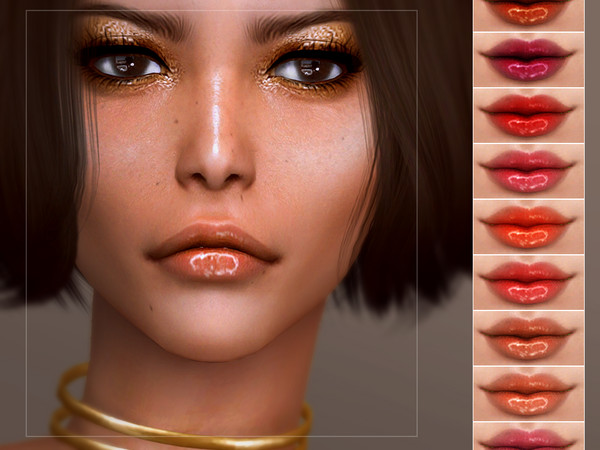 Sims 4 Control Lip Colour by Screaming Mustard at TSR