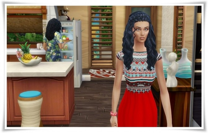 Sims 4 Mid Knot Braids at Birksches Sims Blog
