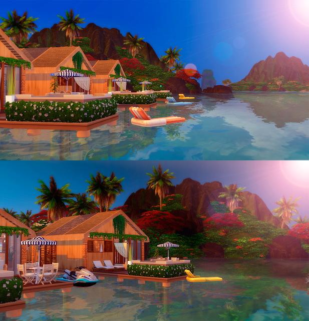 Sims 4 Resort Tropical Sulani at Lily Sims