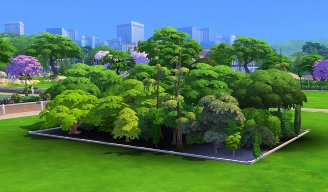 Basic game trees debug mode by Bloup at Sims Artists image 1865 670x392 Sims 4 Updates