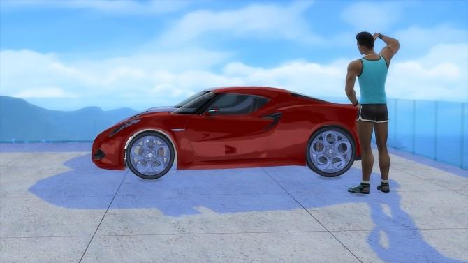 Alfa Romeo 4C Concept at LorySims image 1905 670x377 Sims 4 Updates