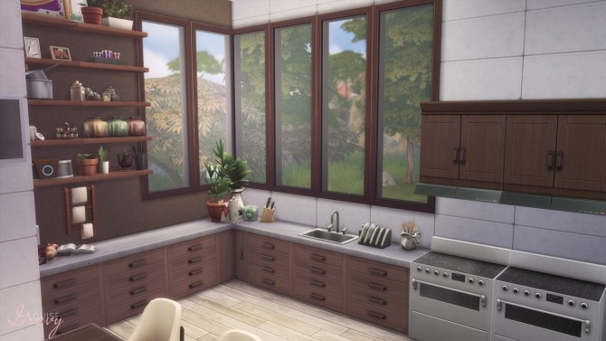 Cozy Modern Kitchen at GravySims image 1951 670x377 Sims 4 Updates