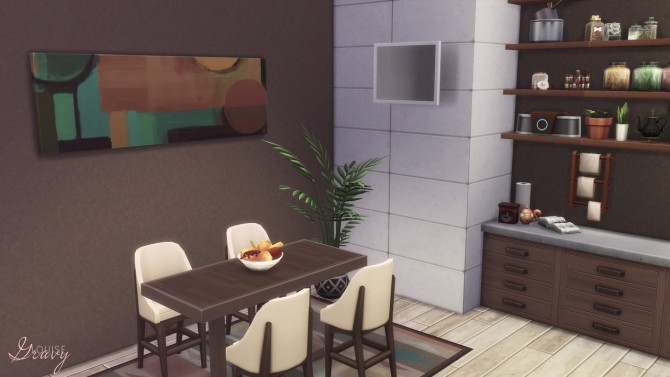 Cozy Modern Kitchen at GravySims image 1961 670x377 Sims 4 Updates