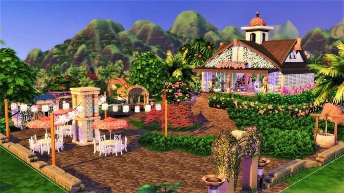 Sims 4 Wedding House in Sulani at Agathea k