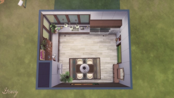 Cozy Modern Kitchen at GravySims image 1971 670x377 Sims 4 Updates
