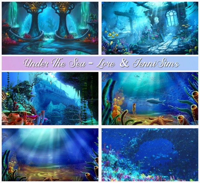 6 CAS Screens Under The Sea at Jenni Sims image 1973 670x613 Sims 4 Updates